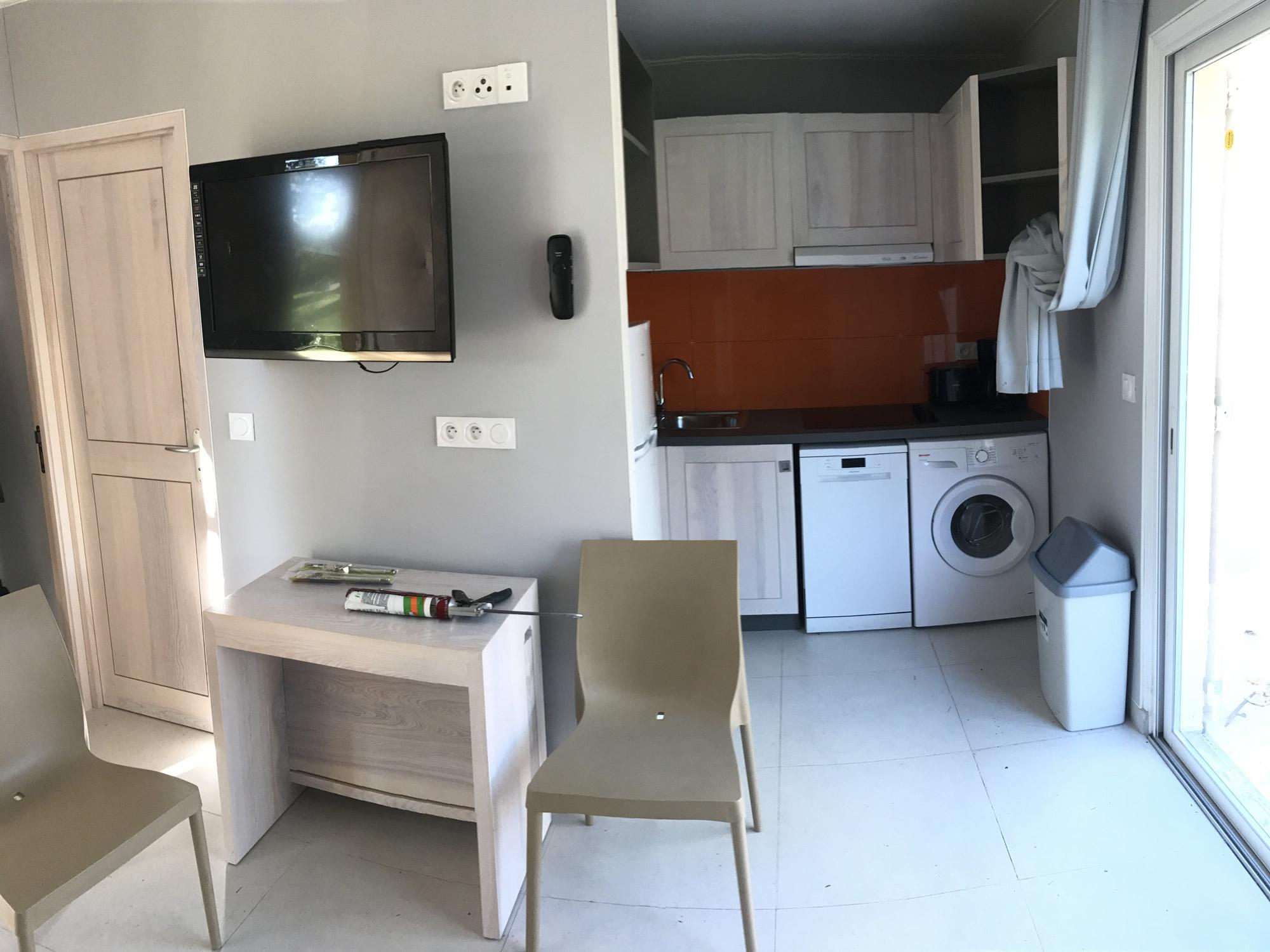Mobilier du Village de vacances Marina d'Oru **** Corse - 135 appartements