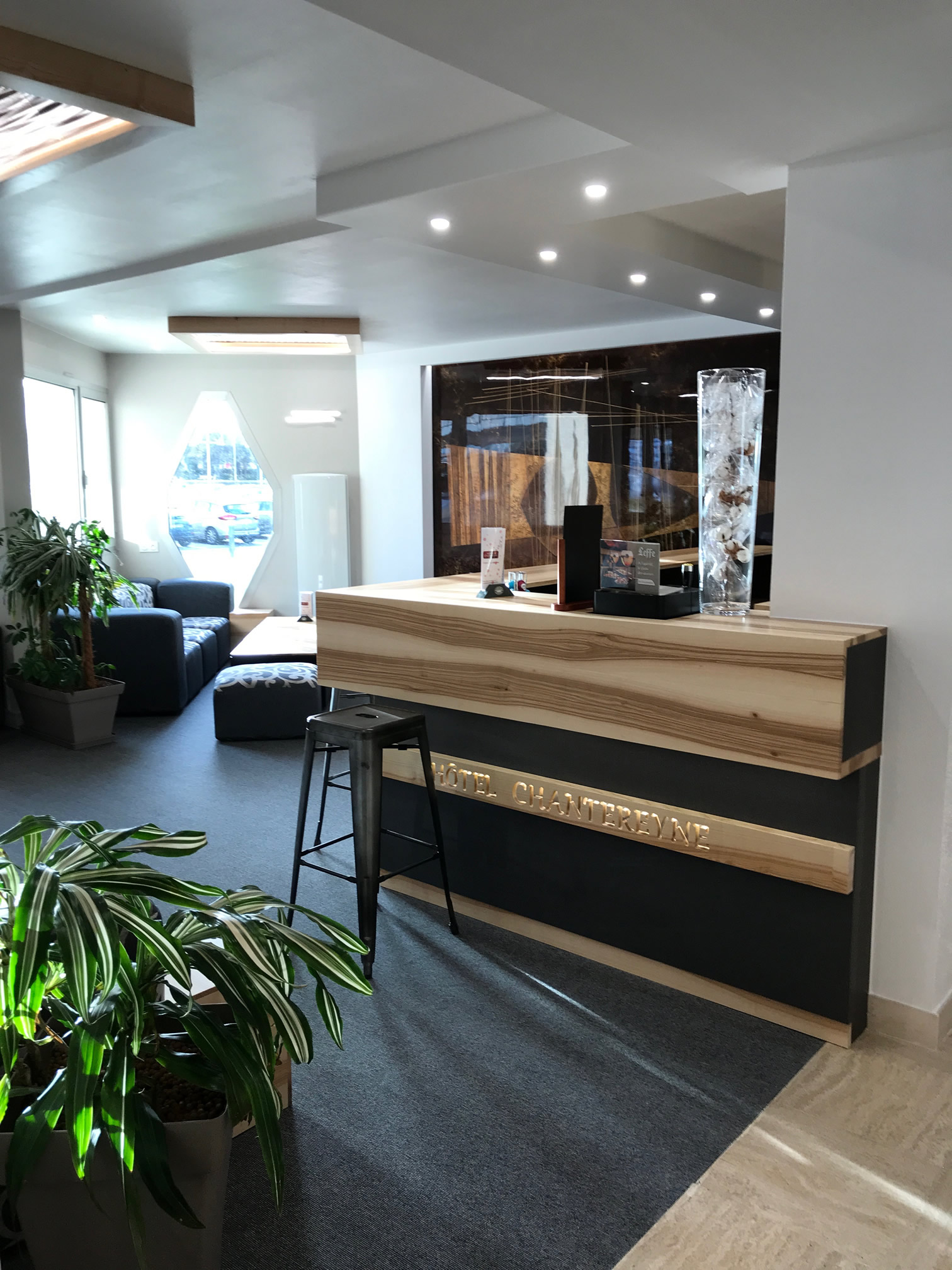 Mobilier de l'Hôtel Le Chantereyne *** - Cherbourg - Accueil - Réception