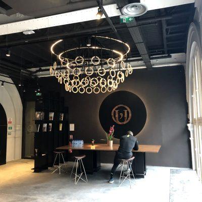 Paris - Mobilier et agencement du club de sport luxe L'Usine