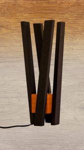 Luminaire contemporain design lampe de chevet pour chambre d'hôtel
