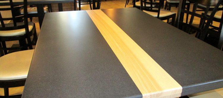 Table de restaurant style contemporain