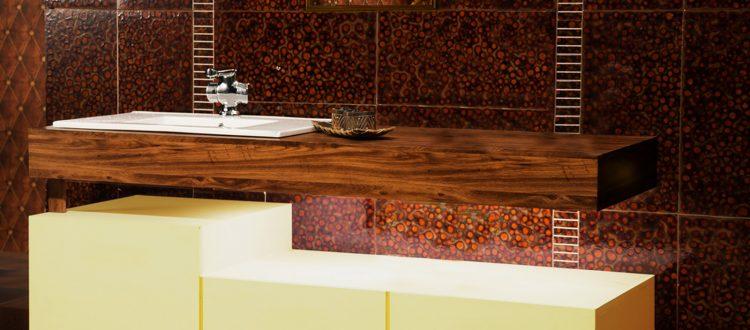 Lavabo - Mobilier bois pour salle de bain d'hôtel